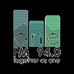 one fm 94.0 logo