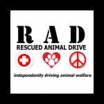 RAD rescued animal drive logo